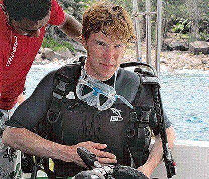 當年在莫三比克旅遊而接觸了水肺潛水,康柏拜區後來考取了 PADI 潛水證照。