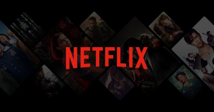 Netflix 串流平台。