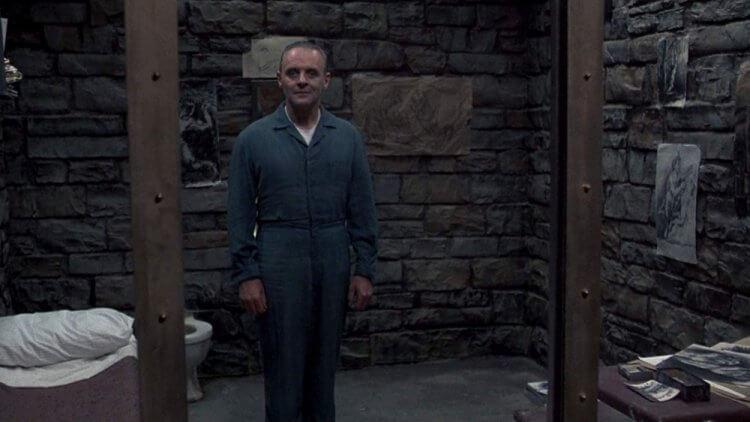 《沉默的羔羊》安東尼霍普金斯。