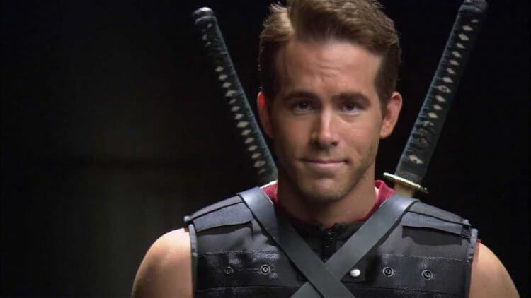 《X 戰警:金鋼狼》中飾演死侍的萊恩雷諾斯。