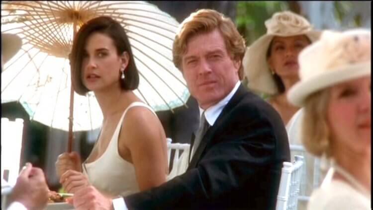 《桃色交易》勞勃瑞福、黛咪摩爾。