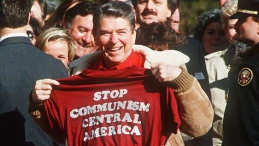 80 年代,中美國多國爆發共產革命,而美國政府設法遏止這種情況持續發生。
