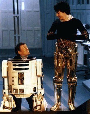 《星際大戰》肯尼貝克與安東尼丹尼斯。