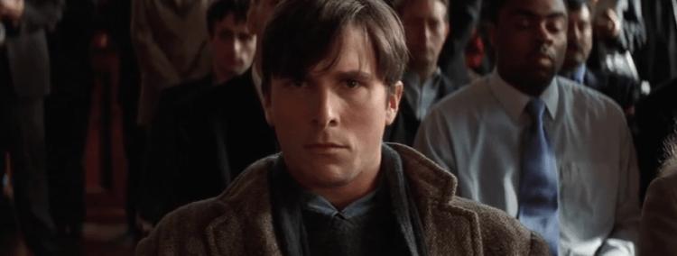 諾蘭《黑暗騎士》蝙蝠俠電影三部曲:22 歲時的布魯斯韋恩。
