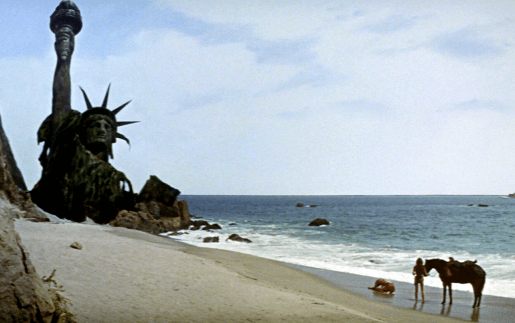 1968 年,《浩劫餘生》經典的震撼結局。