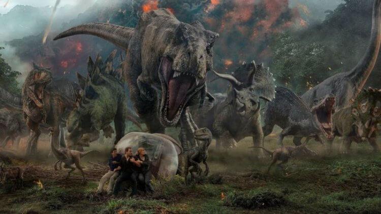 《侏羅紀世界》系列劇照。