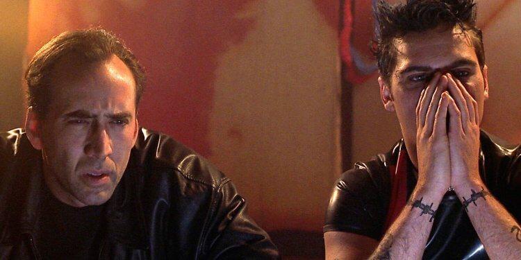 喬伊舒馬克導演,尼可拉斯凱吉主演的電影《8 釐米》劇照。