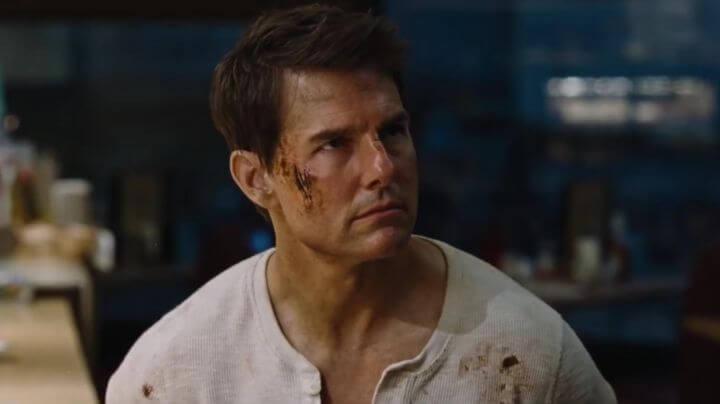 同名小說改編動作電影《神隱任務》中的湯姆克魯斯。
