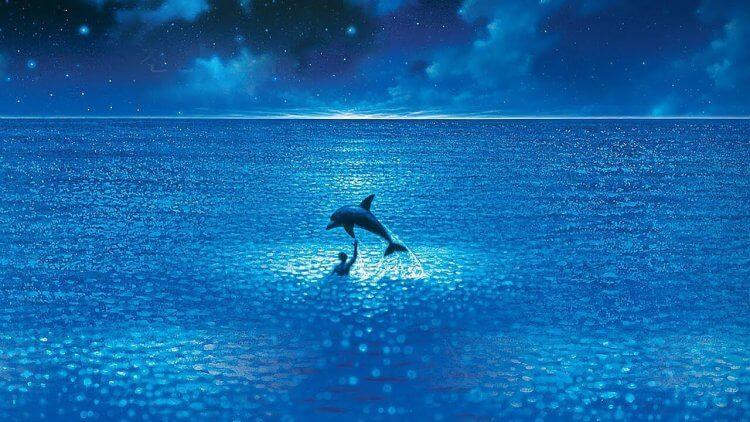 《碧海藍天》應該是有史以來最著名的自由潛水電影。