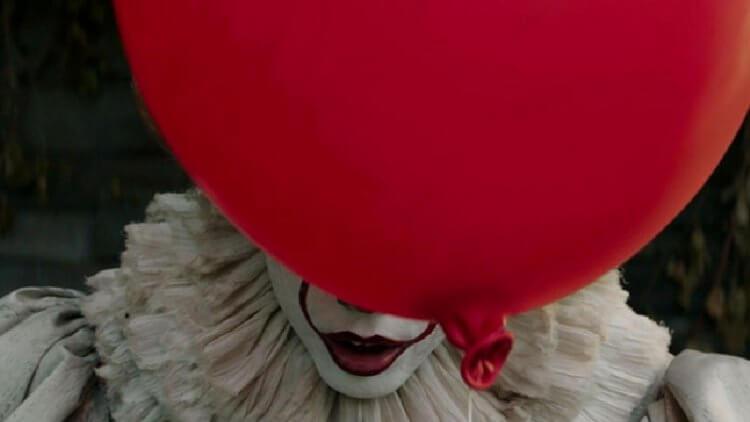 美國恐怖電影《牠》以小丑為主角。