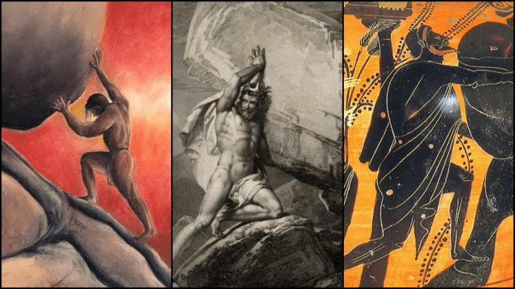 希臘神話:薛西弗斯的石頭。