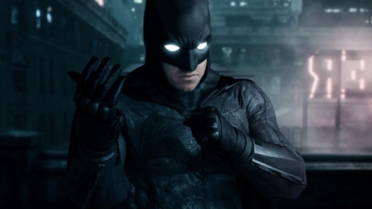 《自殺突擊隊》電影中登場的蝙蝠俠。