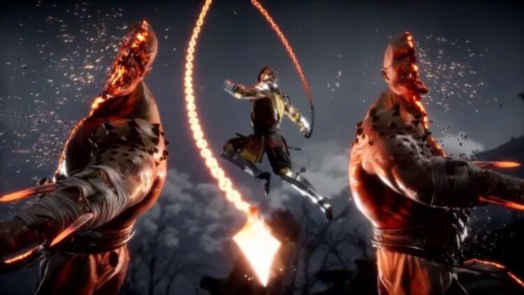 真人動作電影《魔宮帝國》的原作遊戲《真人快打》中「蠍子」的絕招,未能在電影中登場。