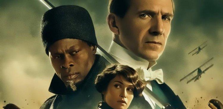 《金牌特務:金士曼起源》電影海報。