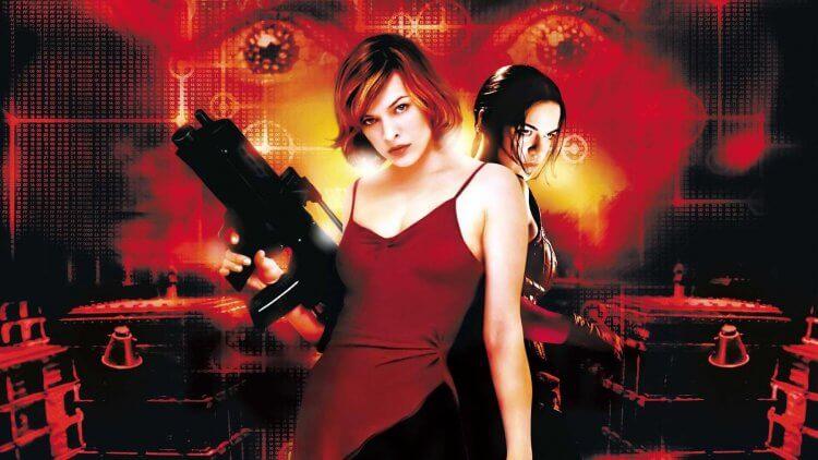 《惡靈古堡》電影海報。
