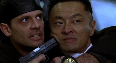田川洋行在《龍威雙探》飾演日本黑道奸商。