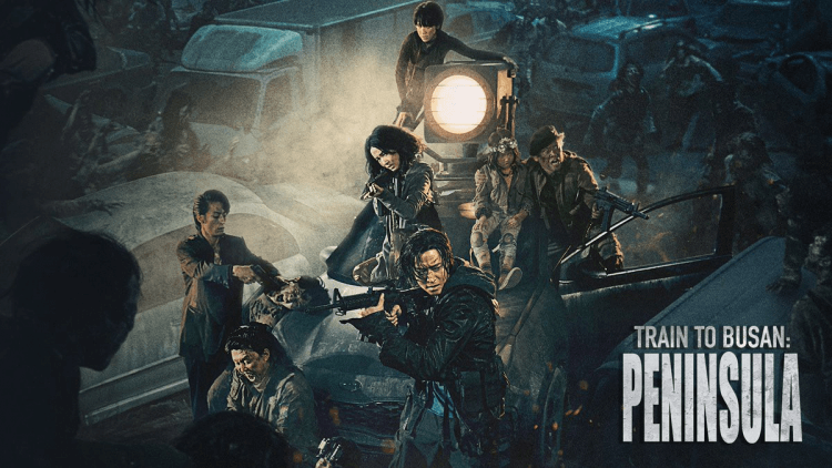 韓國電影《屍速列車:感染半島》海報。