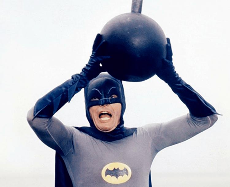 《蝙蝠俠》影集亞當威斯特。