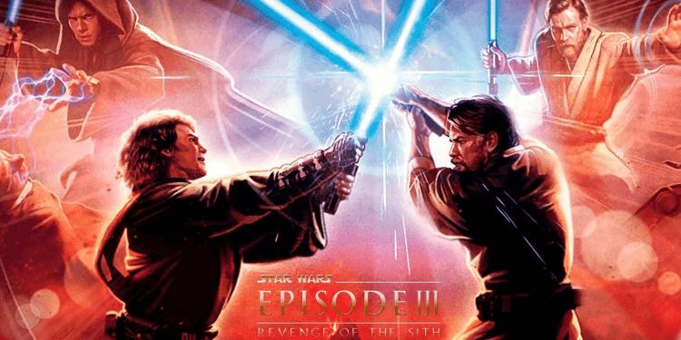 《星際大戰三部曲:西斯大帝的復仇》。
