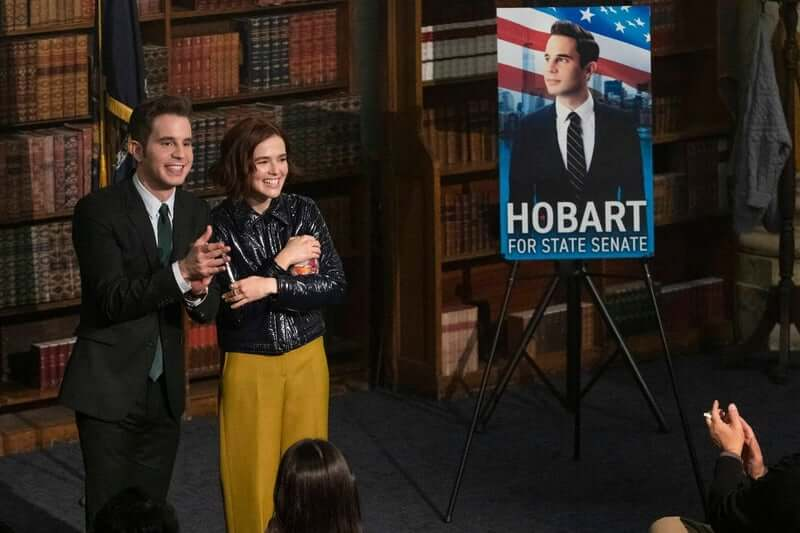Netflix《大政治家》影集劇照。