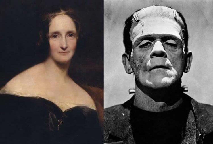 瑪麗雪萊創造了科學怪人。