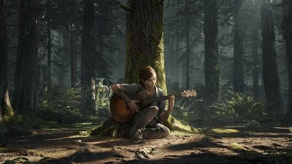 《最後生還者》遊戲畫面。