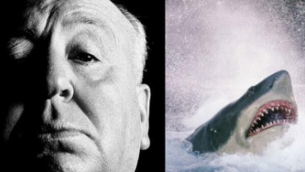希區考克曾為遊樂園裡的大白鯊設施配音。