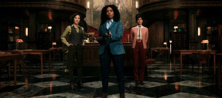 楊紫瓊、安琪拉貝瑟與卡拉裘吉諾。