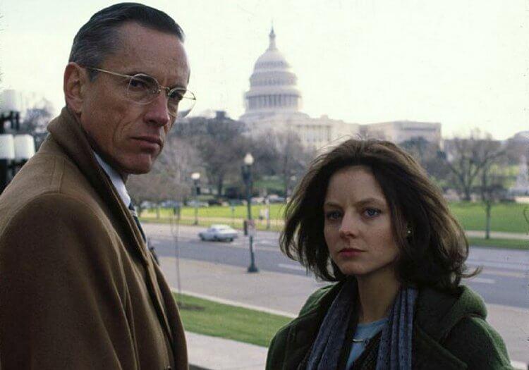 《沉默的羔羊》:克麗絲與上司克勞福。