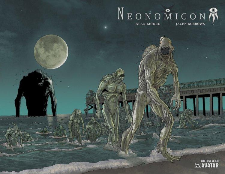 亞倫摩爾在漫畫《Neonomicon》也致敬了這個故事