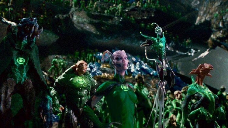 整個宇宙有許多各式各樣的綠燈俠。