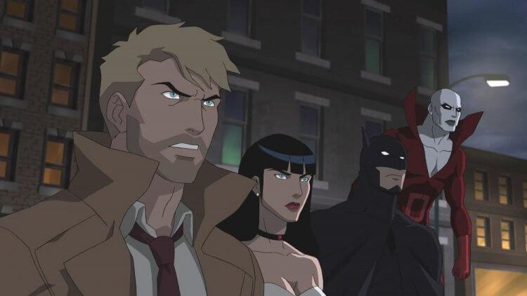 《黑暗正義聯盟》動畫電影。