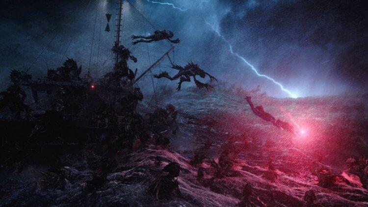 《水行俠》恐怖的「海溝族」在放棄發行獨立電影後,這種恐怖元素將會移植到續集。