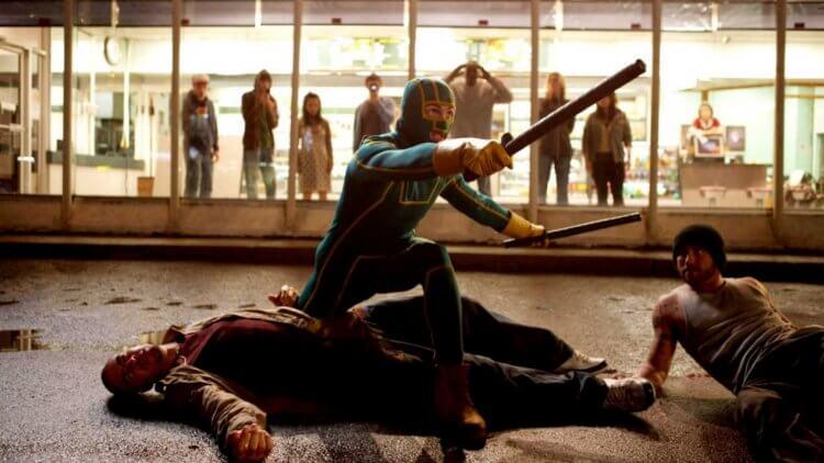 馬修范恩電影《特攻聯盟》(Kick-Ass)。