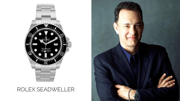 湯姆漢克斯要價不斐的 Rolex Sea-Dweller手錶。