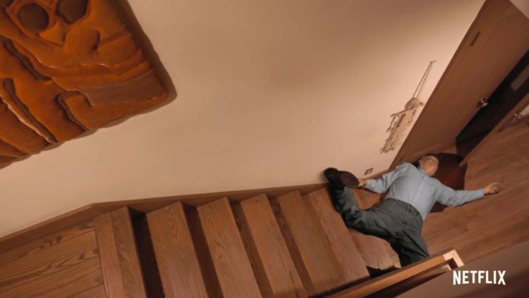 Netflix 紀錄片電影《爺爺的死亡排練》劇照。