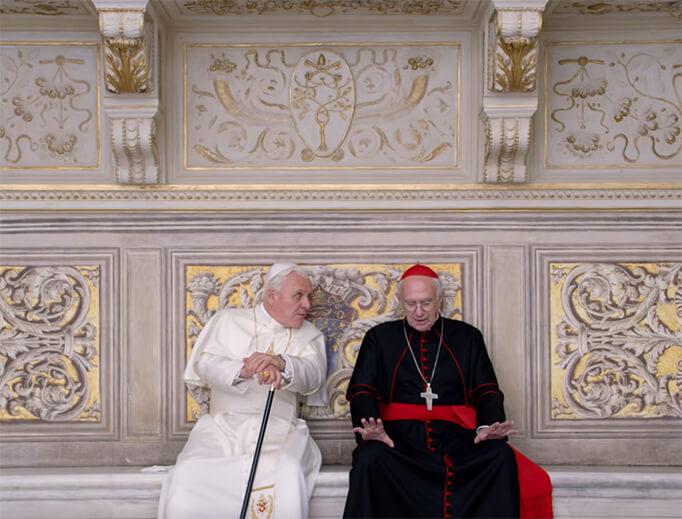 《教宗的承繼》安東尼霍普金斯、強納森普萊斯。
