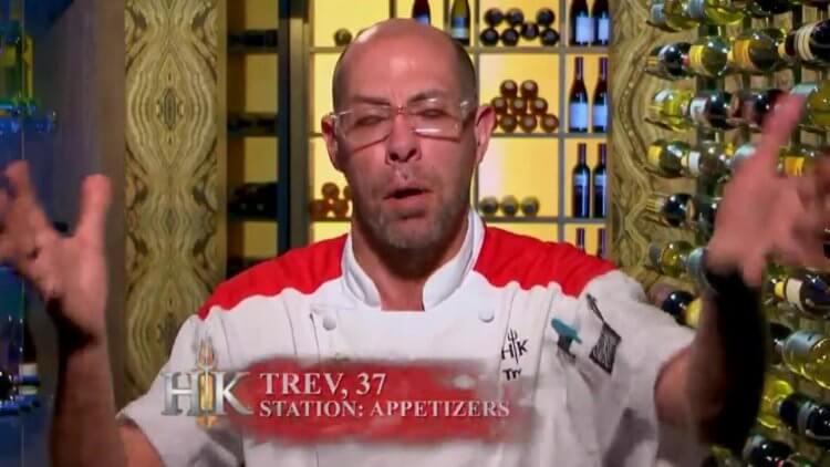 《地獄廚房》第 18 季:崔佛又要抱怨了。