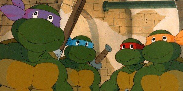 1987 年《忍者龜》動畫版,讓忍者龜們變得可愛多了。