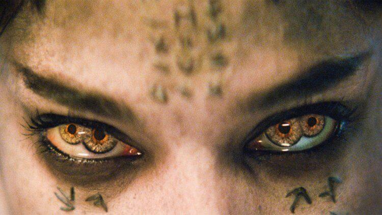 《神鬼傳奇》:四個瞳孔其實沒有多恐怖。