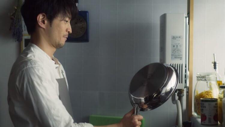 津田健次郎主演 Netflix 影集《極道工夫》劇照。