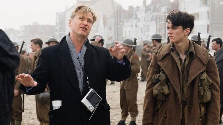 諾蘭執導《敦克爾克大行動》。