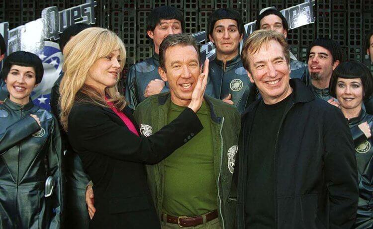 《驚爆銀河系》雪歌妮薇佛、提姆艾倫、艾倫瑞克曼等演員出席電影首映會。