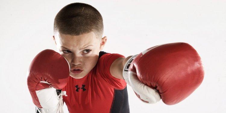 11 歲的賈逢華頓已經有豐富的拳擊比賽經歷。