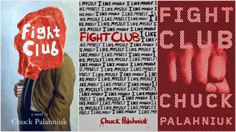 《鬥陣俱樂部》小說封面。