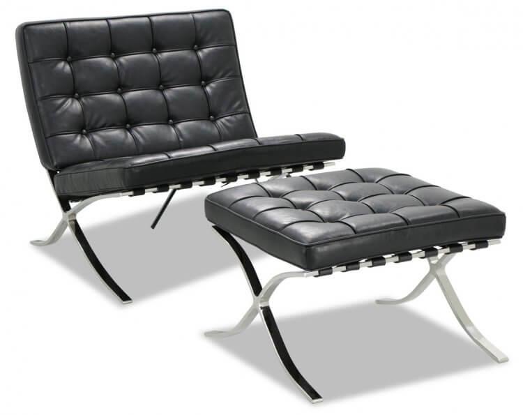 巴塞隆納椅。