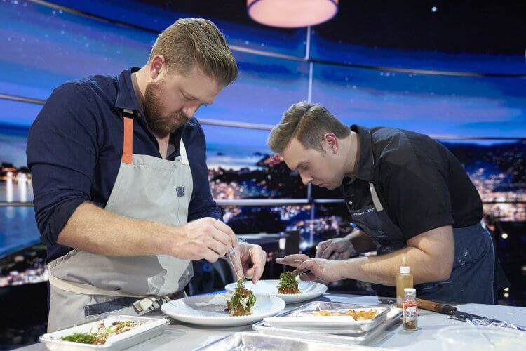 《決戰餐桌:環球烹飪爭霸戰》劇照。