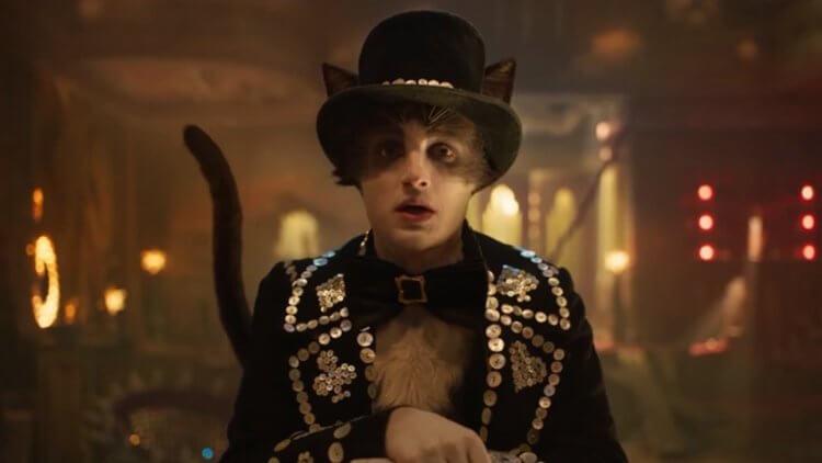 《貓》羅利戴維森飾演「密斯托弗里先生」。