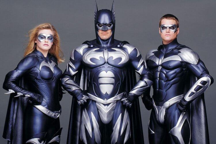 喬伊舒馬克執導電影《蝙蝠俠 4:急凍人》劇照。