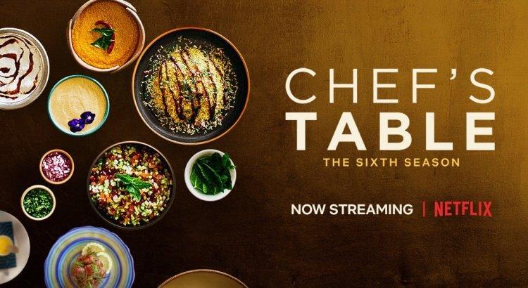 Netflix 美食節目《主廚的餐桌》。